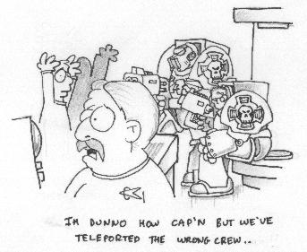 Star trek meets the terminators