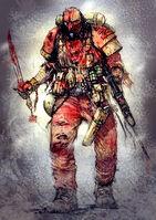 Blood Pact Trooper by MajesticChicken