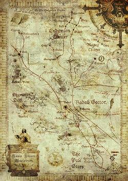 Badab Sector - Ancient Chart