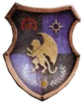 Cerastus Knight-Lancer Orhlacc Heraldry