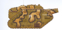Thunderer Siege Tank Catachan 18th Regiment