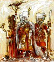Vostroyan Firstborn officers