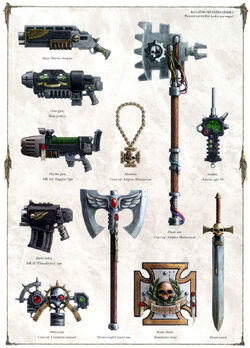 SM Codex SM Weapons