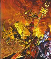 Herald of Khorne Juggernaut