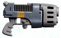 Executioners Monocore Plasma Pistol