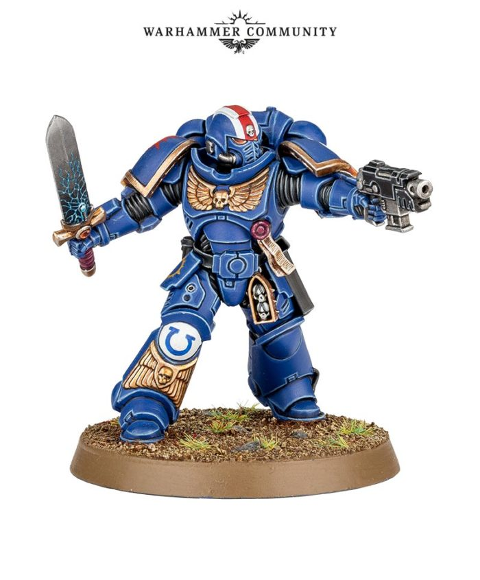 General Warhammer 40k Space Marines: Lieutenant (Space Marines)