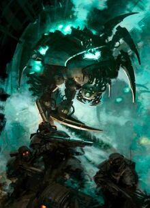 Canoptek wraith necrons