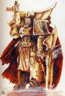 Primarch Rogal Dorn