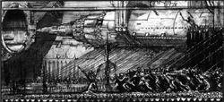 Slave Gang Loading Nova Cannon Ammo