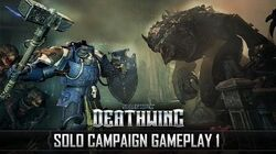 Space Hulk Deathwing - Solo Campaign 17min Uncut Gameplay