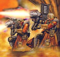 IA Troopers Retobi Missile Launchers