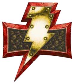 White Scars Lightning Icon
