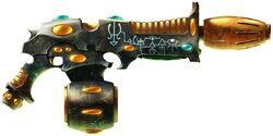 Fire Dragon Fusion Gun - Skyraider's Kiss
