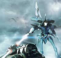 Eldar Revenant Titan Destroys Imperial Tank