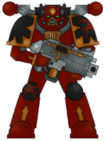 Eightscarred Chaos Marine 2
