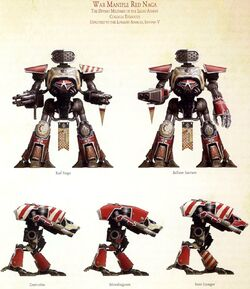War Maniple Red Naga Legio Atarus