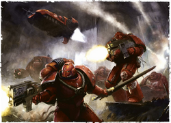BA Legion Battle of Terra