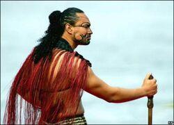 Traditional Rehuan Warrior