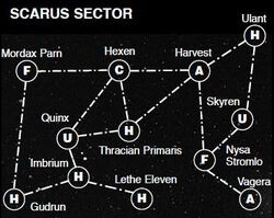 Scarus Sector Map