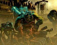 Ork mekboy art