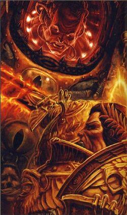Emper & Horus fight