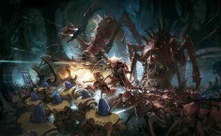 Iyanden vs Kraken