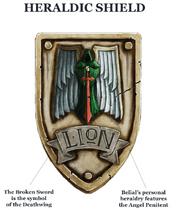 Belial's Heraldic Shield