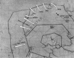 1st Korps Withdrawal