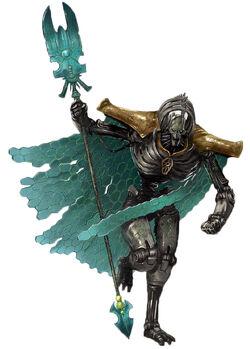 Necron Lord Illmahnokh