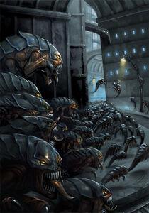 Warhammer 40k ripper swarm by nanya-d46p2pb