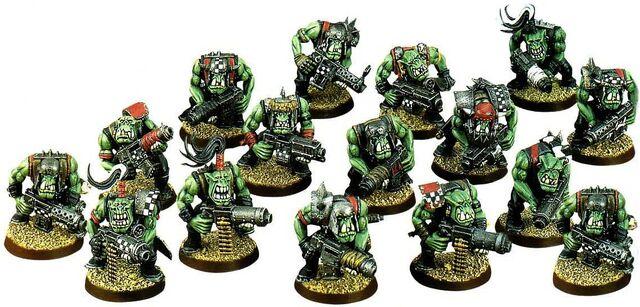 File:Ork Boyz - 15 Unit (Old).jpg