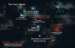 Palte Stars Galaxy Map
