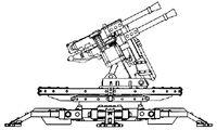 Sabre Defence Platform Quad Heavy Stubbers