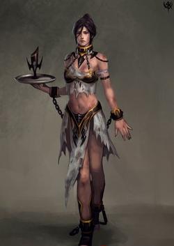 Warhammer Dark Elves Human Slave