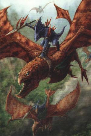 Warhammer Lizardmen Ripperdactyl Rider