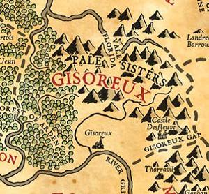 Gisoreux map