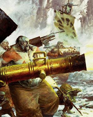 Warhammer Ogre Leadbelcher Warfare