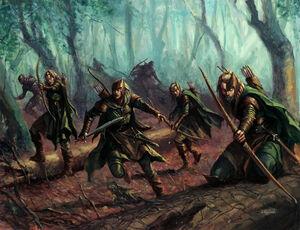 Warhammer Wood Elves Kindred