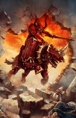 Warhammer Daemons of Chaos Bloodcrushers of Khorne