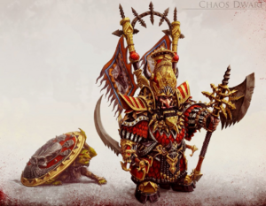 Warhammer Chaos Dwarf Art