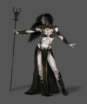 Warhammer Dark Elves Women 2