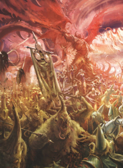 Warhammer Daemons of Chaos Warfare