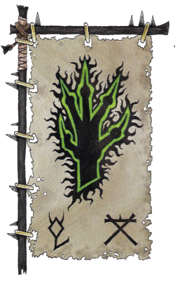 Warhammer Clan Skaar Banner