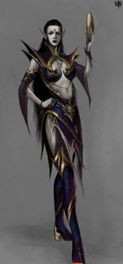 Warhammer Dark Elves Women