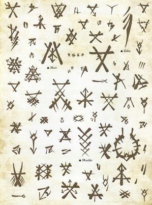 Warhammer Skaven Runes 2