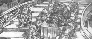 Dwarf burial