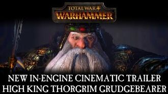 Total War WARHAMMER - In-Engine Cinematic Trailer High King Thorgrim Grudgebearer ESRB