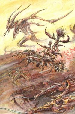 Warhammer Daemons of Chaos Hellflayer of Slaanesh