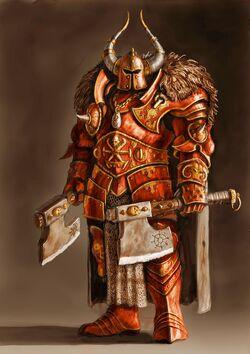 Warhammer Khornate Chaos Warrior