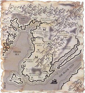 Map of Tilea